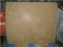 Walnut Travertine Cream Travertine Cross Cut Laminated Panel
