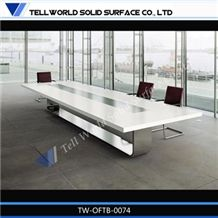 Corian Pure Acrylic Solid Surface Conference Table