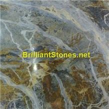 Italy Fantasy Blue Marble Slabs & Tiles