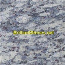 Purple Spot Blue Diamond Granite, China Blue Granite