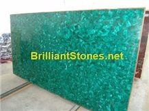 Verde Malachite Semi-Precious Stone Slab