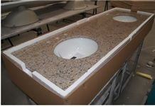 Giallo Bahia Granite Bathroom Vanity Tops,Giallo Bahia Granite Countertops, Best Selling Yellow Granite, Brazil Giallo Granite Vanity Tops, Popular Yellow Granite Countertops