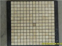 Good Quality Beige Marble Mosaic Tile, Square Marble Mosaic Tile , Sunny Beige Mosaic , Cheap Beige Mosaics , Marble Wall Mosaics , Popular Chipped Mosaic , Cream Mosaic Tile