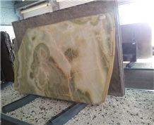 Jade Green Onyx Slabs & Tiles, Onyx Stone