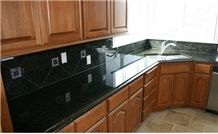 Ubatuba Green Granite Kitchen Countertops,Verde Ubatuba Countertops, Brazil Verde Granite, Ubatuba Table Top ,Popular Green Countertops