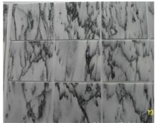 East Ink Marble Slabs & Tiles, China White Marble