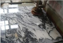 East Ink White Marble Tiles & Slab, China White Marble