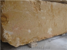 Giallo Reale Marble Blocks, Italy Royal Gold Marble