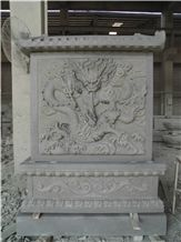 Granite Dragon Wall Decoration Relief