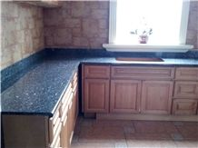 Blue Pearl Kitchen Countertop , Granite Countertop