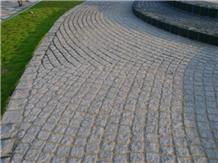 Grey Granite Cobble Stone Tumbled
