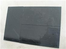 Honed Black Limestone, Slabs & Tiles