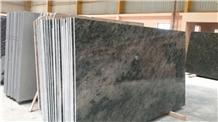 Tropical Green Granite Slabs & Tiles, India Green Granite