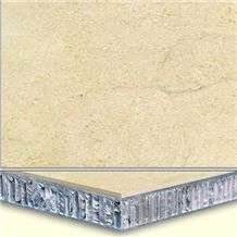 Welest Cream Marfil Beige Composite Marble Tile,Honeycomb Marble Panel,Cmh005