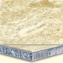 Welest Perlato Svevo Beige Composit Marble Tile,Honeycomb Marble Panel,Cmh001