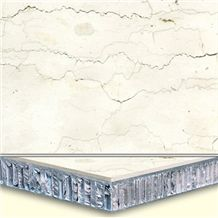 Welest Perlino Bianco Composit Marble Tile,Honeycomb Marble Panel,Cmh007