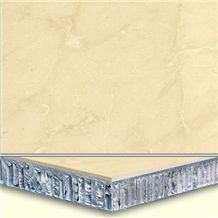 Welest Royal Botticino Beige Composite Marble Tile,Honeycomb Marble Panel,Cmh003