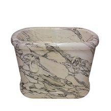 Wellest Arabescato Corchia White Marble Bathtub,Natural Stone Bathtub,Natural Marble Bathtub,Sbt009