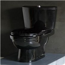 Wellest China Black Granite Toilet Bowl,Stone Closestool,Toilet Sets,Bathroom Accessories, Stb003