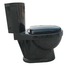 Wellest China Black Granite Toilet Bowl,Stone Closestool,Toilet Sets,Bathroom Accessories,Stb007