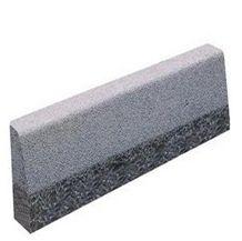 Wellest G654 Sesame Black Granite Kerb Stone, Bush Hammered Surface Side Stone,Road Stone,Ks001