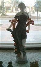 Wellest Iconology Sculpture & Statue, Handcarved Fairy Sculpture,Natural Stone Carving,Sis009