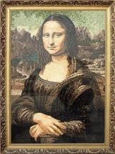 Wellest Mona Lisa Stone Tablets Marble Mosaic Paiting,Stone Decorative Artwork,Artifacts & Handcrafts,Sp003