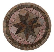 Wellest Slate Mosaic Medallion,Stone Pattern