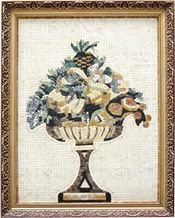 Wellest Stone Tablets Marble Mosaic Paiting,Stone Decorative Artwork,Artifacts & Handcrafts,Sp008