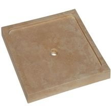Wellest Yellow Limestone Square Shower Base & Shower Tray,Bath Accessories,Svs006