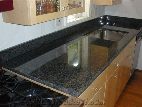 Giga Black Diamond Granite Kitchen Countertops From China