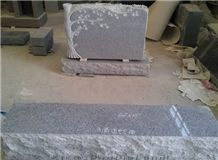 American Style G633 Granite Tombstone,Monument,Gravestone, G633 Granit Grey Granite Gravestone
