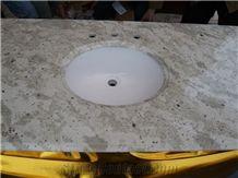 Andromeda White Granite Bathroom Countertops,India Andromeda White Granite Bathroom Countertops,Andromeda White Granite Vanity Tops for Sale
