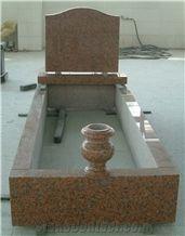 G664 Granite Gravestone, Red Granite Monuments,G664 Red Granite Style Monument
