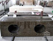 Tropical Brown Countertop, Granite Bath Top,Hot Selling Tropical Brown Granite Bathroom Countertops