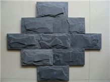 Cheap Price for Black Slate Mushroom Stone Wall Cladding