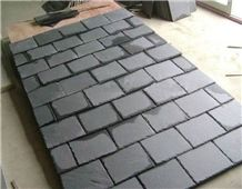 China Black Slate Roof Tiles