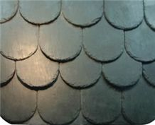 China Black Slate Roof Tiles