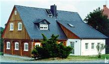 China Black Slate Roofing Tile