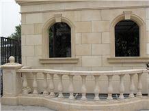 Beige Marble Balustrade & Railings