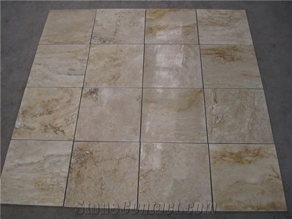 Home Travertine Tiles Slabs China Coffee Cut To Size Tile Chinese Slab