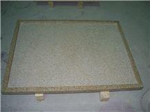 G682 Yellow Granite Shower Tray