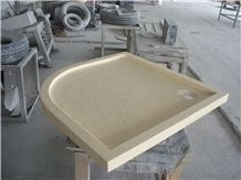 Sunny Beige Marble Shower Tray