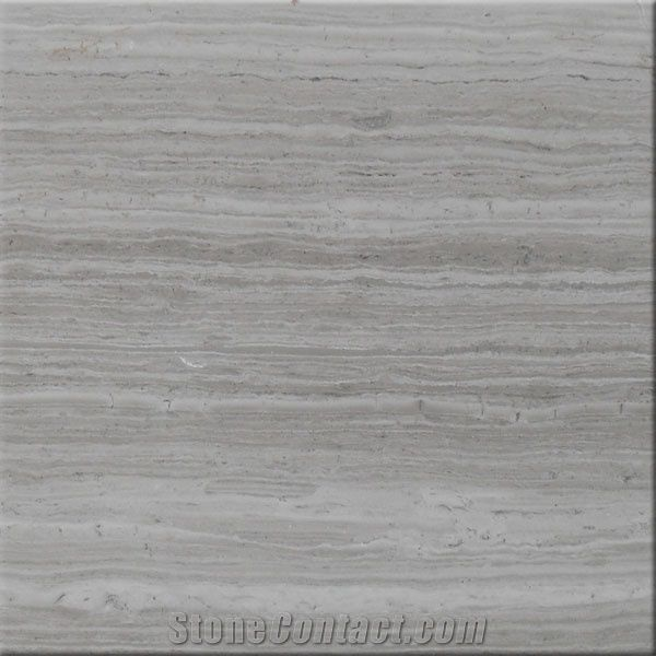 Vein Cut Silver Light Travertine Slab And Tile From China