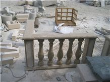 Hot Sell China Yellow Granite Stone Balustrade Railings
