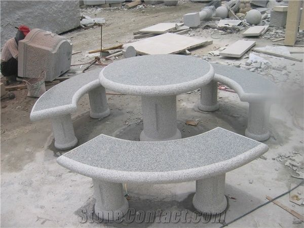 Swell Outdoor Garden Stone Tables And Benches Stone Round Table Gmtry Best Dining Table And Chair Ideas Images Gmtryco