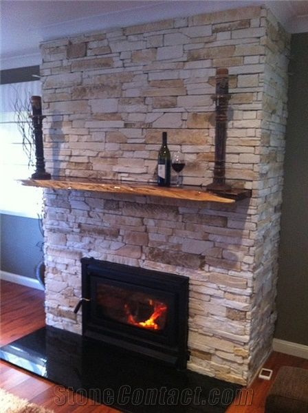 Wa Limestone Ledge Stone Fireplace From Australia