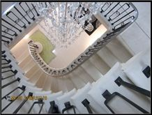 Ancaster Hard White Limestone Beautiful Stone Staircase