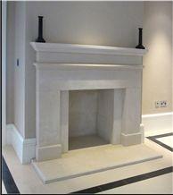 Ancaster Hard White Limestone Bespoke Fireplaces