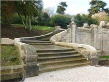 Ancaster Hard White Limestone Harlaxton Manor Renovations